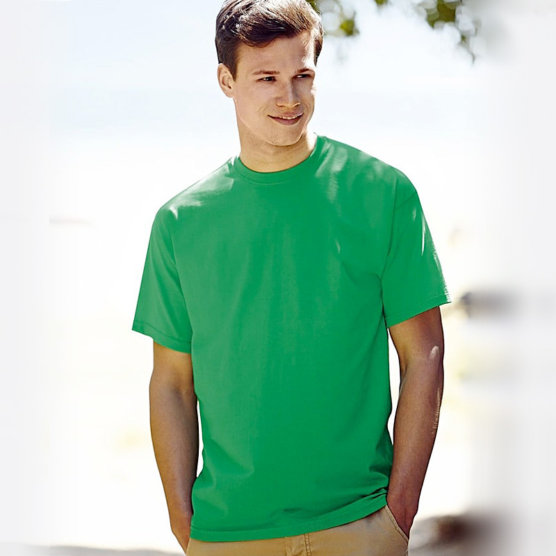 Mens value weight kelly green