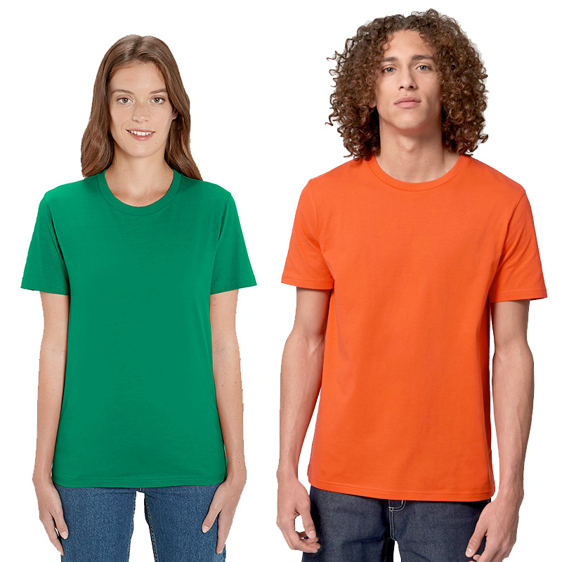 unisex creator fresh green bright orange