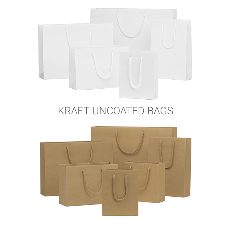 Kraft uncoated bags