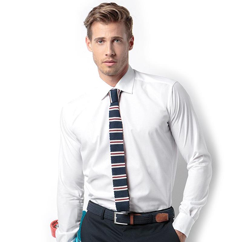 KUSTOM Business long sleeve white