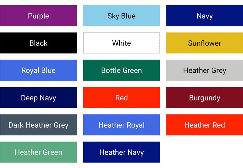 Loom 65-35 lady-fit colour palette