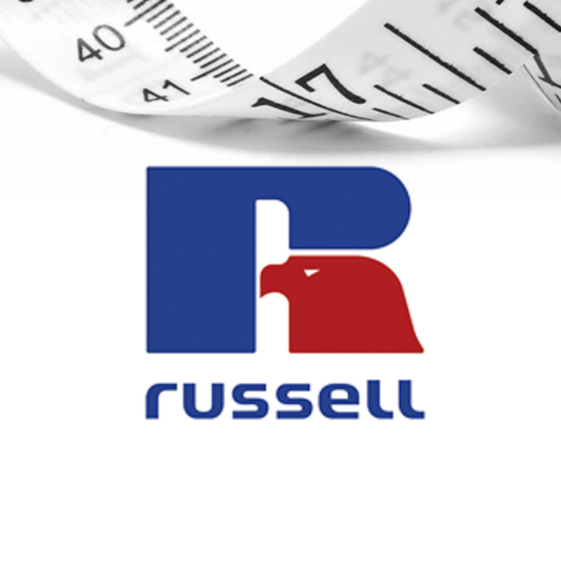 Russell size guide