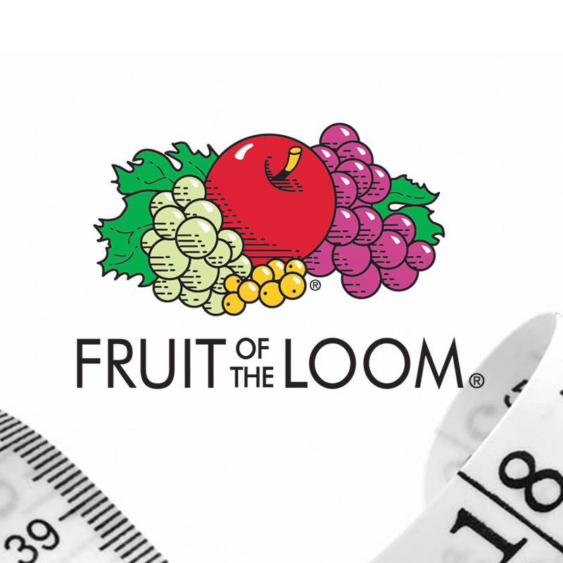 Fruit of the Loom size guide
