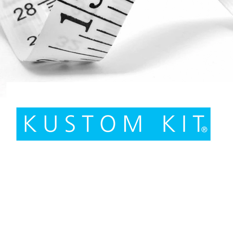 Kustom Kit size guide