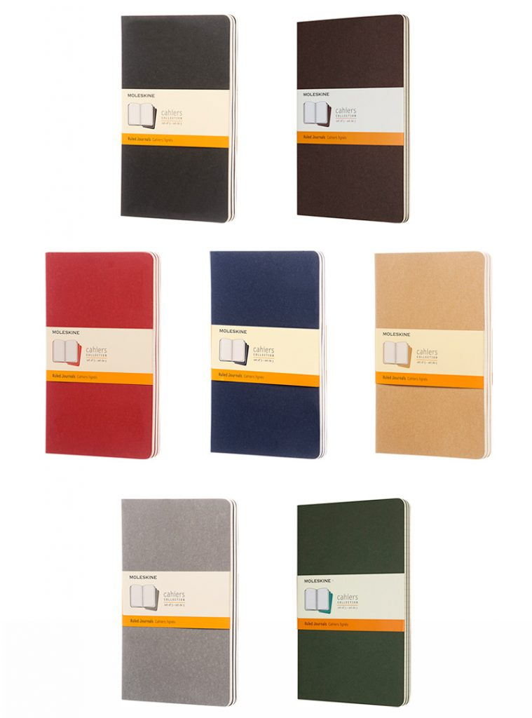 MA5 Cahier journal colours