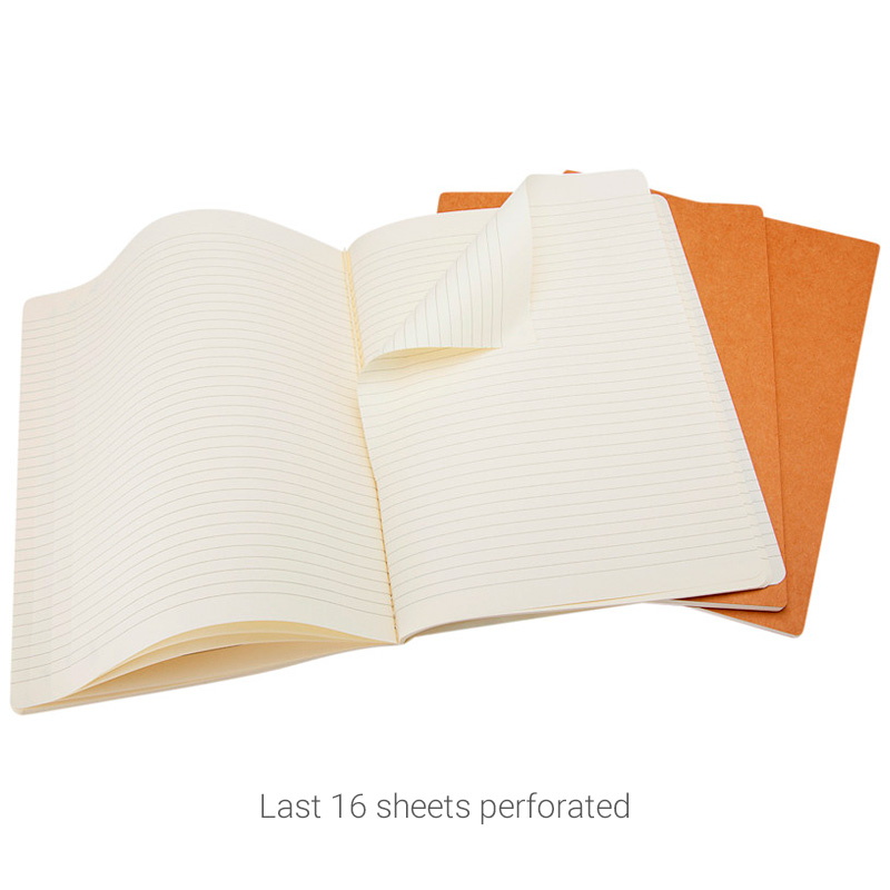 MA5 Cahier journal perforated sheets