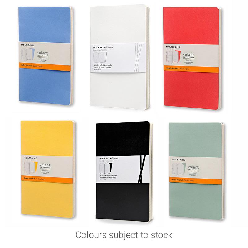 Volant A5 Journal colours