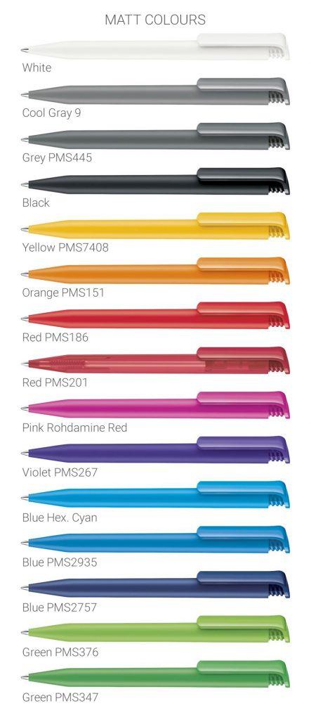 Super Hit Matt colours