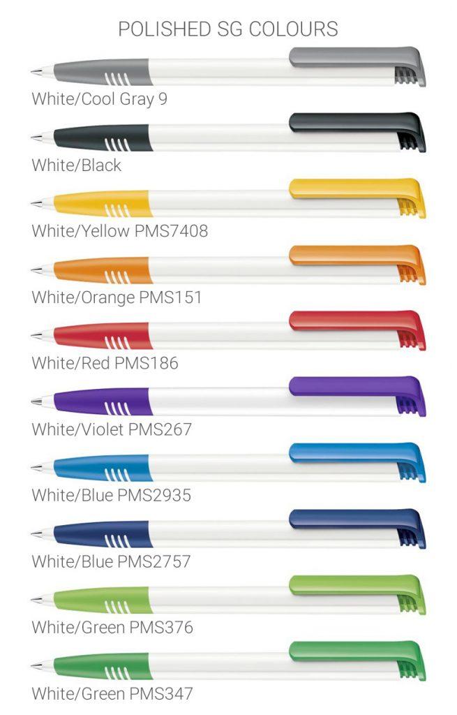 Super Hit Polished SG colours